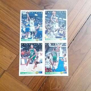 NBA Upper DECK 1992-1993 Dallas Mavericks 籃球卡