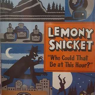 Lemony Snicket - All the Wrong Questions 1