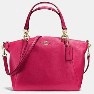 AUTHENTIC COACH Small Kelsey Satchel Pink @2.200.000 😍😍😍