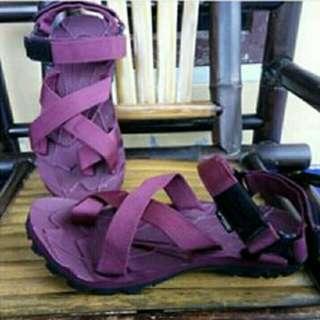 Sandal Gunung Suzuran Cross Thumb Mr1 Full Maroon