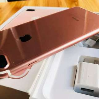 Iphone 7 Plus 128GB LEGIT Apple Factory Unlock With warranty