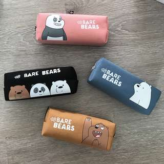 INSTOCK - We Bare Bears Pencil Case