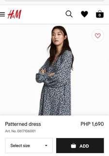 Brand New H&M Loose Dress/Top