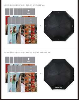 [Preorder] EXO OFFICIAL GOODS