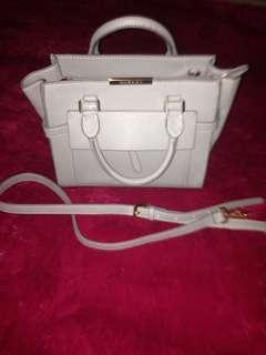 Charles n Keith Grey Handbag