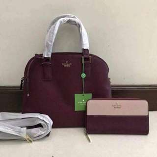 Authentic Kate Spade Bag with Wallet