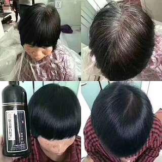 Chinese herbal hair treatment