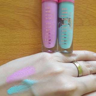 New Lipstick Warna (Pink dan Biru) Take All ya 2pc Import