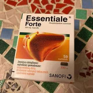 健肝素 Essentiale 300mg 50 Capsules Exp. 08/2019