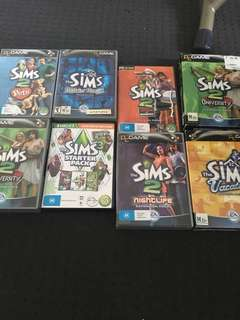 Sims 2 expansion packs PC