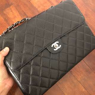 Chanel Jumbo Caviar