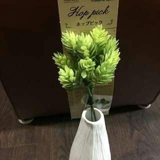 裝飾花卉 擺飾品 (綠)單位:一株連