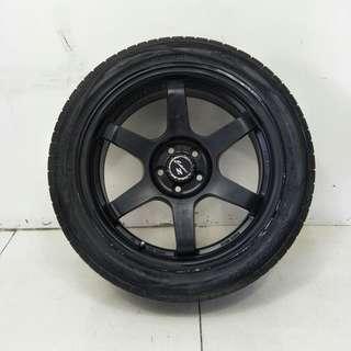 17 '' Sport Rim With Tyre 5x100 (SR1013)