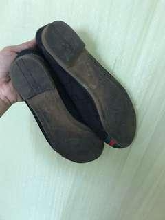 Black doll shoes (preLoved)
