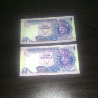 BANK NOTES (RM1)