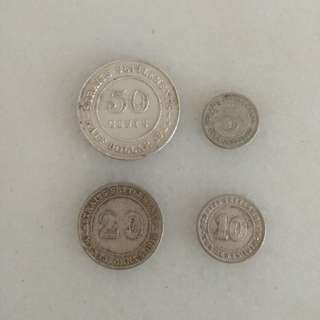 Old Coins - Strait Settlements Coins