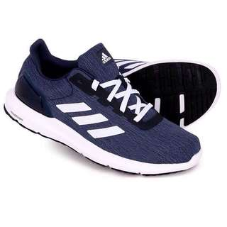Authentic Brand New ADIDAS Men Cosmic 2 Running Shoes Gym Training Low Shoe Blue
