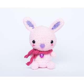 Marshmallow Chan Bunny Amigurumi Pattern & Kit