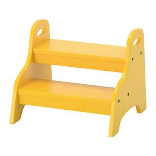 [IKEA] TROGEN Children's Step Stool / Yellow