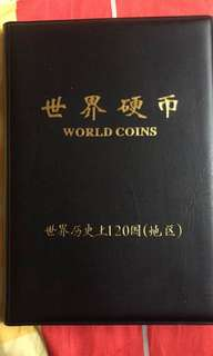 World cion(120 country)世界钱币