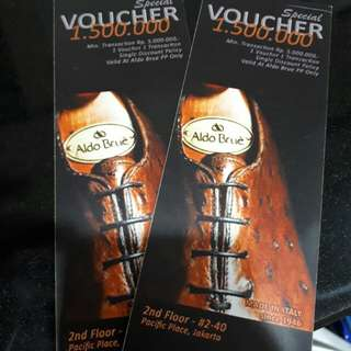 Voucher Aldo Brue Pacific Place Outlet