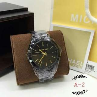 Michael Kors ¦ Slim Runaway ( BLACK) ¦ Authentic Watch