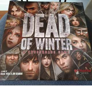 Dead of Winter board game (mint condition)