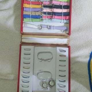 Jam tangan wanita 20 tali dan 20 ring