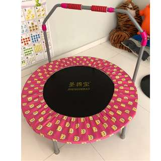 Trampoline for both kids and adults (up to 80kg)