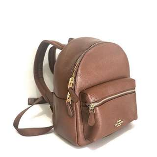 Ready AUTHENTIC COACH Mini Charlie Backpack SZ Saddle @2.000.000 ONLY 😍😍😍