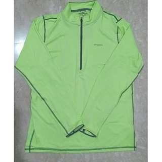 全新 Patagonia Tropic Comfort 男款防曬排汗衣 1/4襟拉鏈 M號