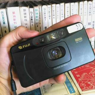 日本帶回 FUJI CARDIA Travel mini op 底片 底片機 底片相機 傻瓜相機 街拍