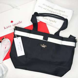 ❗️REPRICED❗️Black Kate Spade On Purpose Tote Bag