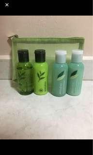 BN Innisfree Jeju Green Tea Body travel collection