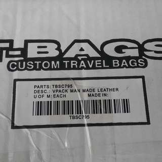 T bag custom travel bags
