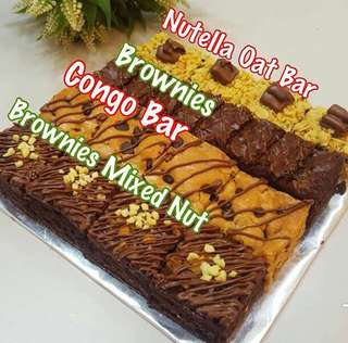 Combo brownies