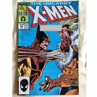 The Uncanny X-Men No. 222