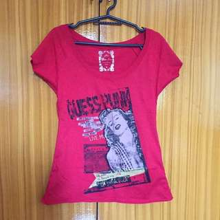 Guess Red Top
