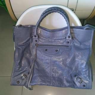 Authentic Balenciaga bluish gray grey