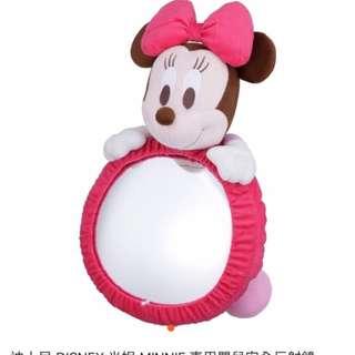 迪士尼米妮 車用嬰兒安全反射鏡
