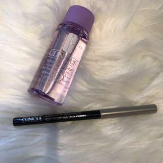 Clinique Eyeliner and Eye Makeup Remover
