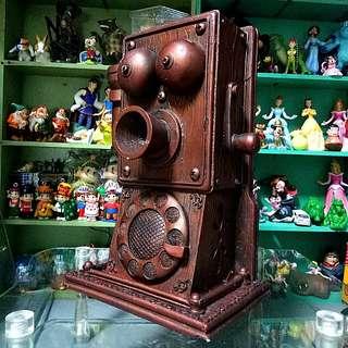 復古電話造型存錢桶