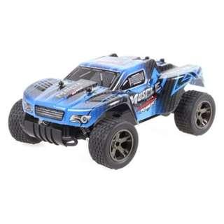 JULE UJ99 - 2812B 2.4GHZ 1:18 RC CAR RTR 20KM/H / SHOCK ABSORBER / IMPACT-RESISTANT PVC SHELL (BLUE)
