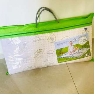 BNIB Little Zebra 100% Latex Baby Mattress 72x105x2.5cm