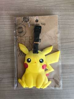 Pikachu Luggage Tag