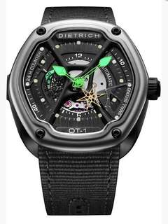 瑞士品牌 DIETRICH 自動機芯手錶