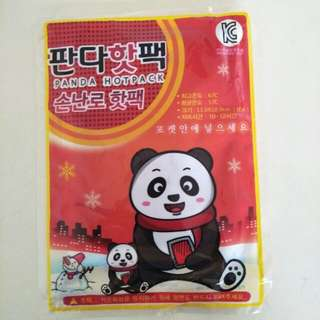 Panda hot pack for winter