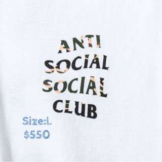 New anti social social club tee