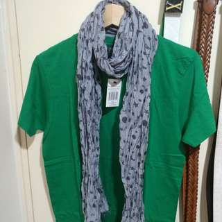 Paul Smith patterned scarf