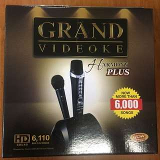 Brand New Grand Videoke Harmony Plus - HD